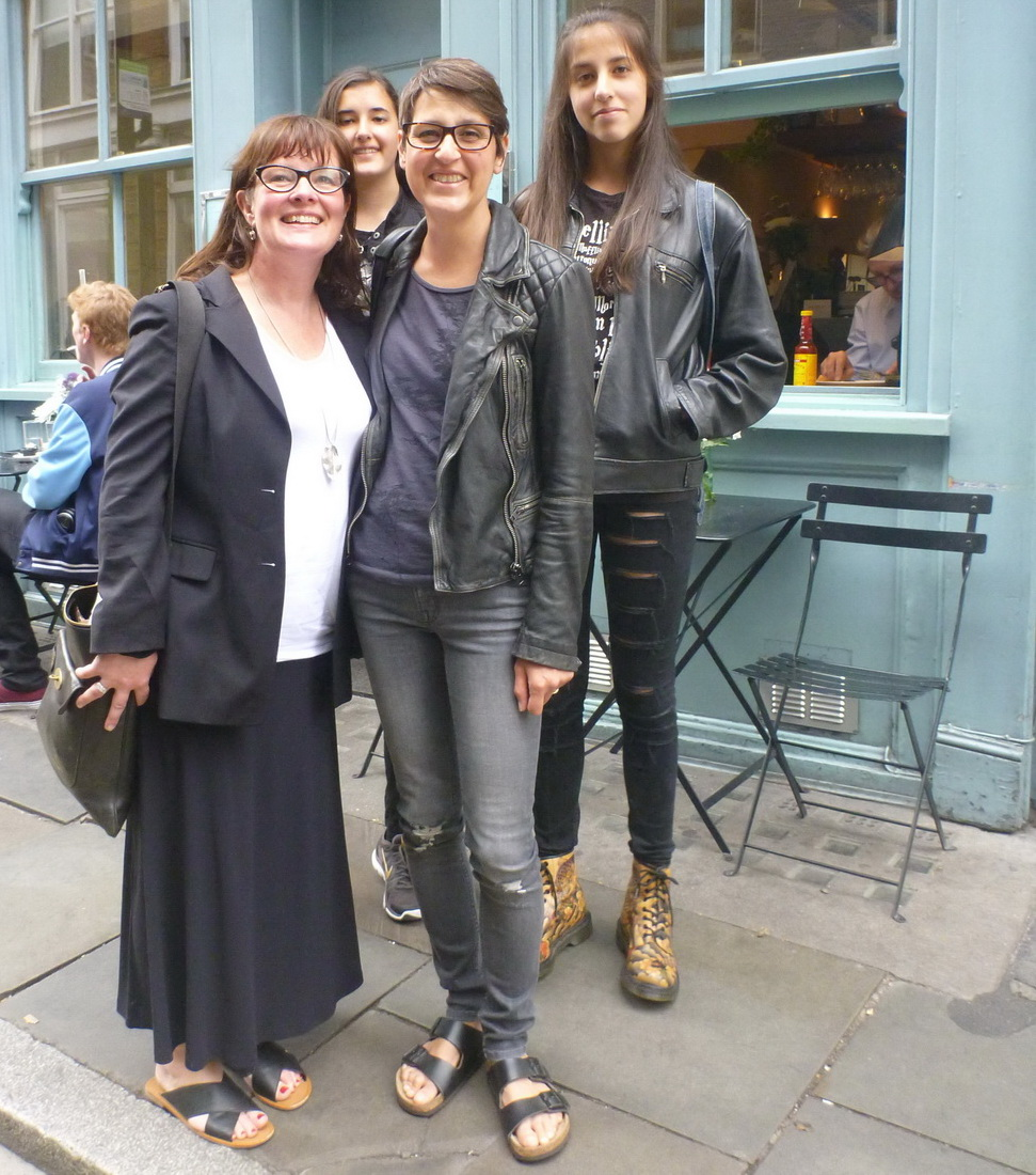 Lunch with Jane in London, July 2015