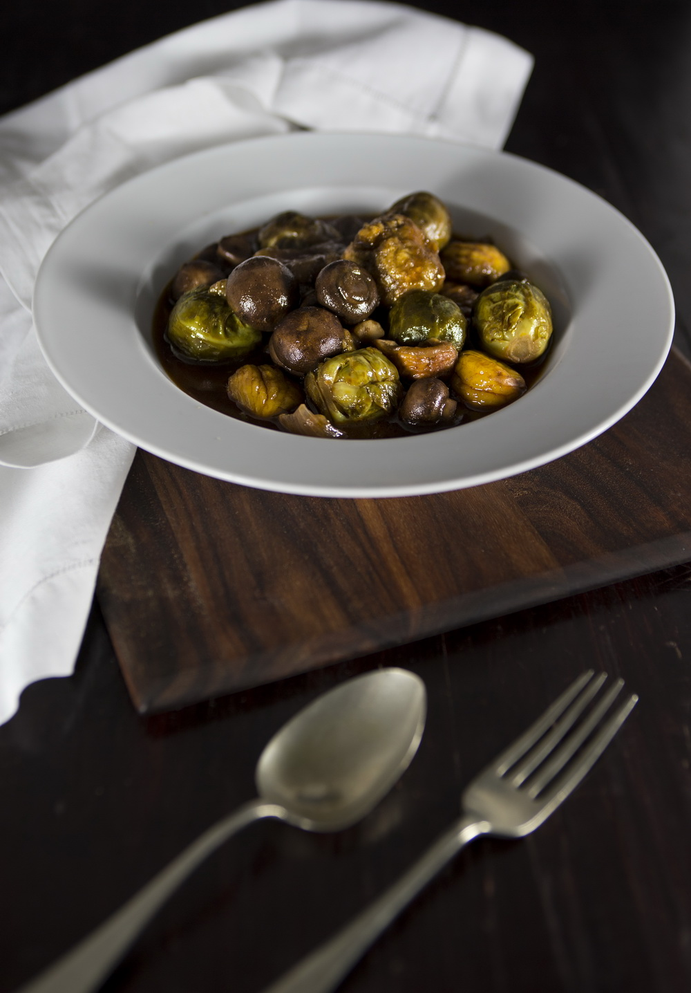 The Urban Nest Chestnut and Vegetable Casserole