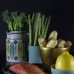 7 Winter Days of Dinner – Sunday: Roast Salmon and Potatoes